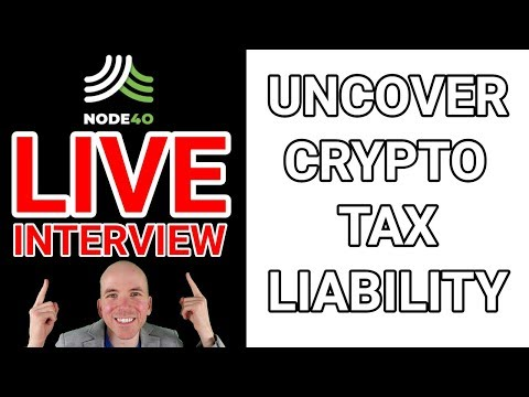 Live Interview with Sean and Perry from NODE40 (Cryptocurrency Tax Liabilities)