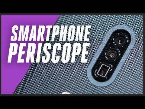 Oppo put a periscope inside a phone