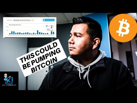 THE LIKELY REASON BITCOIN IS PUMPING! Will it last?