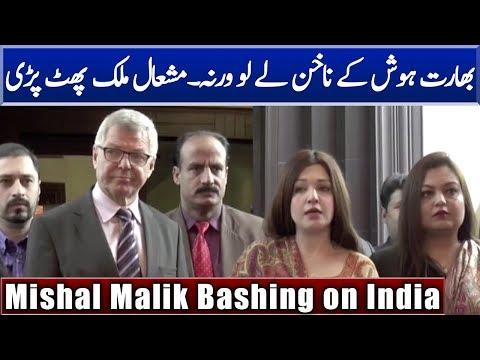 Mishal Malik Bashing on India | Mishal Malik Media Talk | Neo News