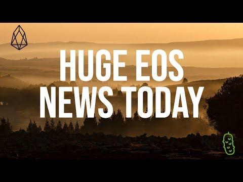 Huge EOS News, 5$ EOS Coming Soon