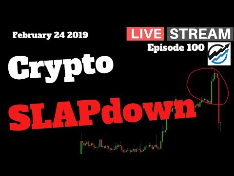 Cryptocurrency Trading Live Stream, The Bull Market Watch – February 24 2019