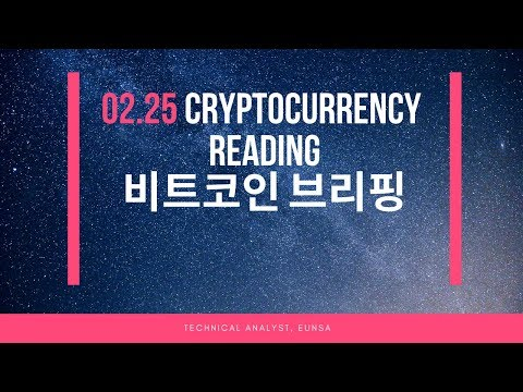 [02.25/비트코인] Cryptocurrency Reading / Bitcoin 시황브리핑