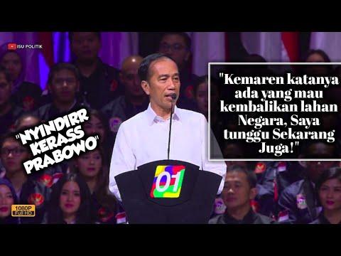 Sindir Prabowo, Jokowi: Jika Ada Pemilik Lahan Mau Kembalikan ke Negara, Saya Tunggu Sekarang!
