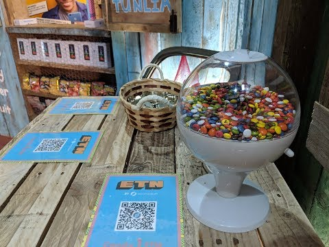 IOT Enabled Candy Machine Accepts ETN