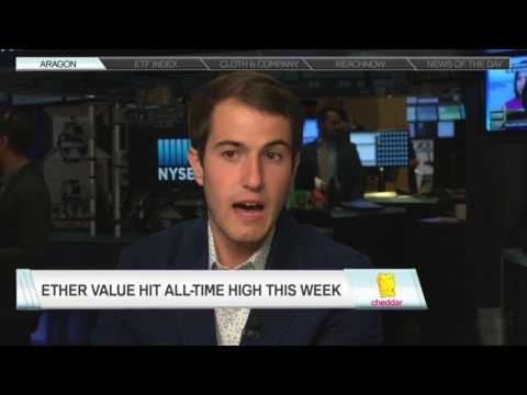 Aragon's Luis Cuende interview with Cheddar from the NYSE trading floor