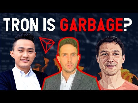 Tron is Garbage!? Stellar Lumens' Founder Slams Justin Sun and TRX