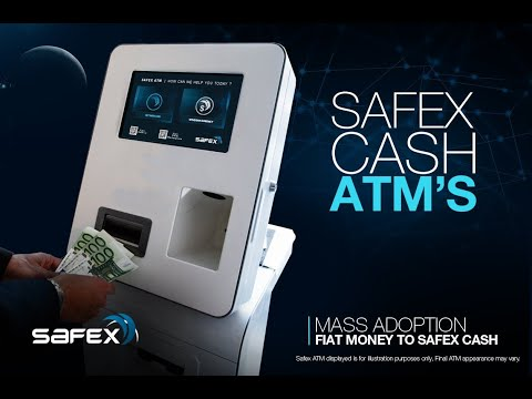 SAFEX cash ATM's Revealed by CEO Daniel Dabek