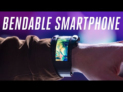 Nubia Alpha hands-on: bendable phone on your wrist