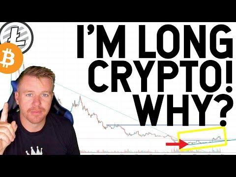 I'M BUYING CRYPTOCURRENCY AGAIN! WHY???? LITECOIN BITCOIN