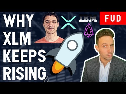 WHY XLM FLIPPED EOS & THE ONLY COIN I'M BUYING DURING THIS BEAR MARKET?
