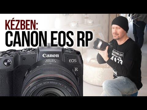 Kézben: Canon EOS RP (EOS R)