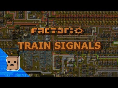 Factorio – Train Signal Tutorial