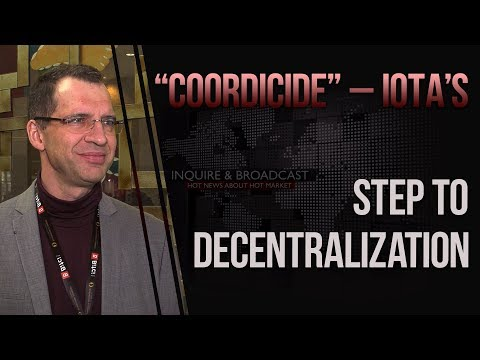 """Coordicide"" – IOTA's step to decentralization"