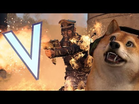 BATTLEFIELD 5! Doge plays 1080p60 PS4 Gameplay LIVE