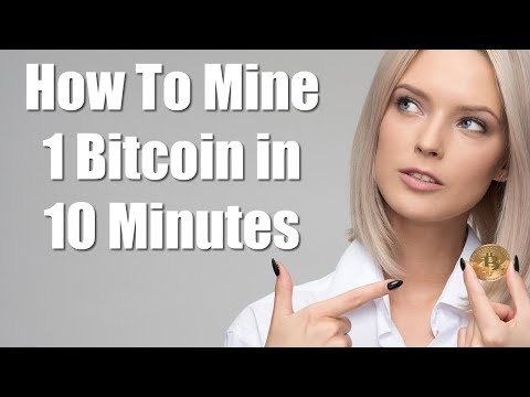 How To Mine 1 Bitcoin in 10 Minutes – Blockchain BTC Miner Pro