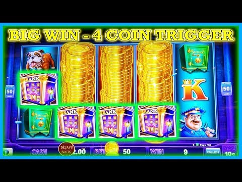 OMG 4 COIN TRIGGER PAID OFF! BIG WIN ON PIGGY BANKIN LOCK IT LINK