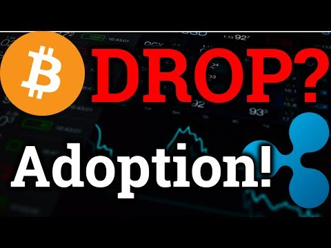 Bitcoin Shorts Indicating Drop Coming?! Ripple XRP MORE Adoption! (Cryptocurrency Trading + News)