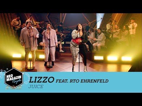 "Lizzo feat. RTO Ehrenfeld – ""Juice"" | NEO MAGAZIN ROYALE in Concert – ZDFneo"