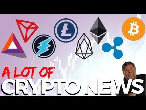 ETH, BAT, LTC, BTC, TRX, XRP, ETN, EOS – Crypto News