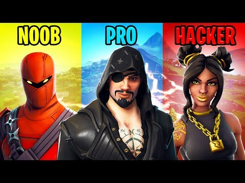NOOB vs PRO vs HACKER – Fortnite Battle Royale (Season 8)
