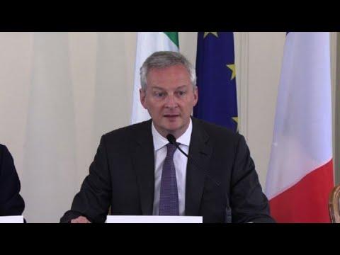 """Le Maire réitère son soutien à la """"fusion"""" STX-Fincantieri"""