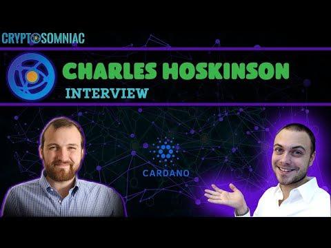 Cardano (ADA) | Charles Hoskinson Interview With Cryptosomniac