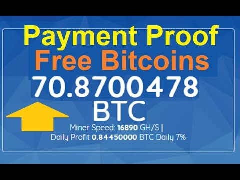 New Free Bitcoin CLOUD MINING  Site 2019   Live Payment Proof 0.1 Btc