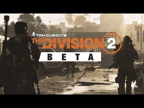 The Division 2 Beta! Doge plays 1080p60 PS4 Gameplay LIVE