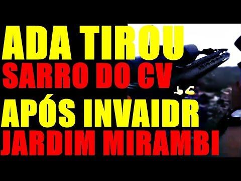 VÍDEO ADA APÓS MAT#R FRENTE CV JARDIM MIRAMBI SÃO GONÇALO