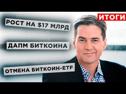 Почему Биткоин обвалился, а рынок вырос? Россия и криптовалюты. EOS рост на 50%. Итоги месяца