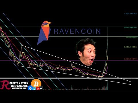 Ravencoin : RVN Has Gone to the Moon! Episode 380 – Cryptocurrency Technical Analysis