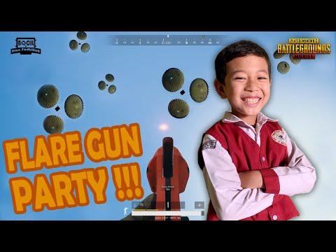 PARA PEMBURU FLARE GUN!!! ADA FLARE GUN LANGKA DI ERANGEL | ALL SQUAD AUTO LOBBY – PUBG MOBILE