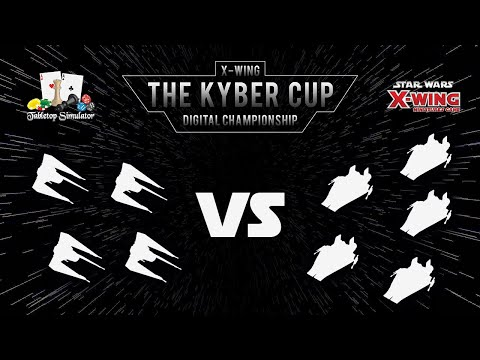 The Kyber Cup Season 2 | X-Wing 2nd Edition | Swiss Rnd 2 | Hand of Vecna vs. Maui