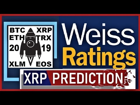 Weiss Ratings PREDICTION: XRP, BITCOIN, STELLAR, EOS, TRON