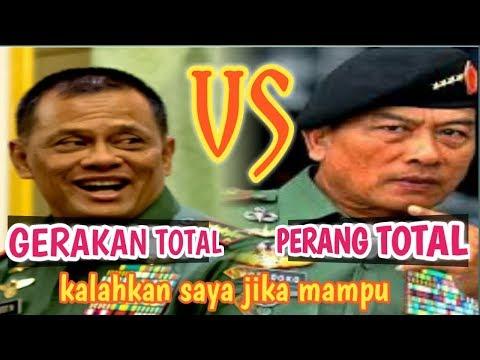 TNI MEM4NAS!! 5 JUTA RELAWAN GATOT SIAP TUMBANGK4N MOELDOKO, ADA APA DENGAN TNI..