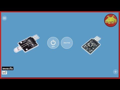 Controllare Sensori sul GPIO del Raspberry Pi col Mozilla IoT Things Gateway ⊷ #gon_Esperimenti
