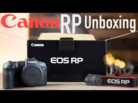 Canon EOS RP Unboxing & First Impressions