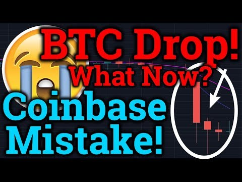 $3 Billion Leaves The Cryptocurrency Market?! Coinbase Makes A HUGE Mistake?! Bitcoin Trading + News