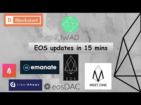 Quick EOS updates, some great apps coming and new scams everyday