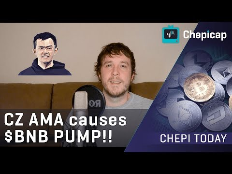 Why the Binance CZ AMA caused $BNB to PUMP!| Cryptocurrency News | Chepicap
