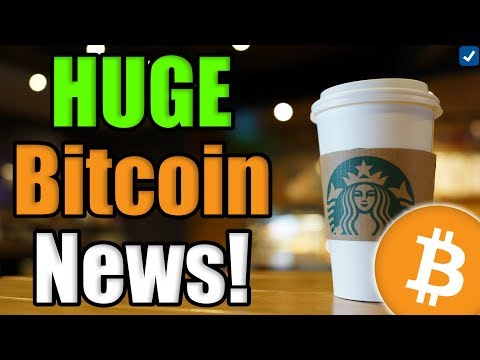 BITCOIN IS ABOUT TO EXPLODE! Starbucks Will Be Accepting BITCOIN??? Lyft Accepting Crypto!