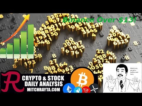 Binance : Binance Coin (BNB) Over $13! Episode 384 – Cryptocurrency Technical Analysis