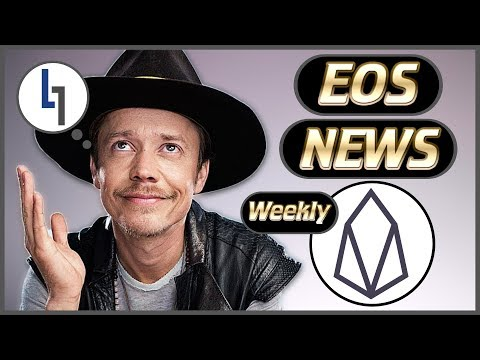 EOS Weekly News – Community Exponential Growth – Brock Pierce Proxy – Block.one Tweets  – Liquidapps