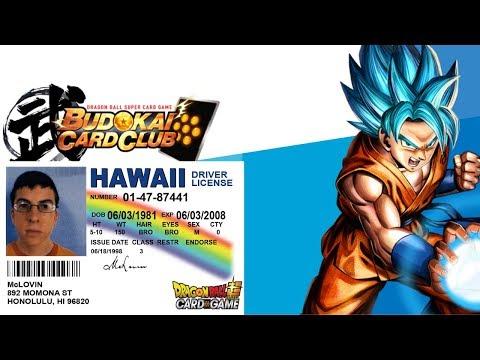 MAKING A DRAGON BALL SUPER CARD GAME ID (BCC ID)
