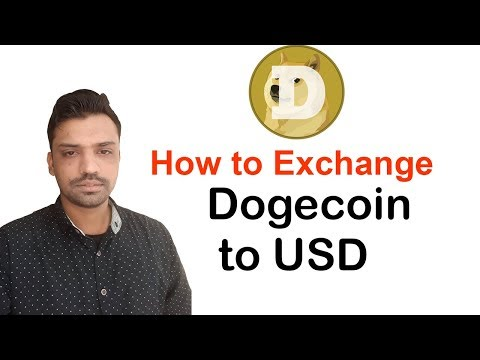 How to exchange dogecoin to USD – Urdu/Hindi