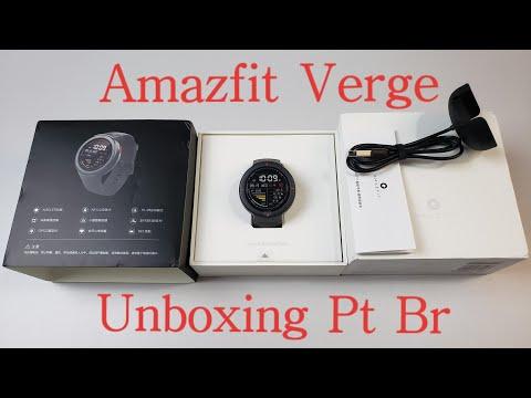 Amazfit Verge Unboxing Pt Br