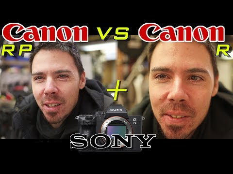 Canon EOS RP vs EOS R vs Sony A7III (Full Frame Battle)
