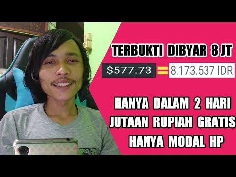 Modal HP Dalam 2 Hari Dibayar 8JT Gratis | GIVEAWAY 1500 DOGE