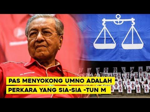 Menyokong UMNO Adalah Kerja Yang Sia-Sia  -Tun Mahathir